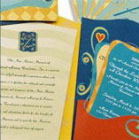 Custom invitation creation and design
